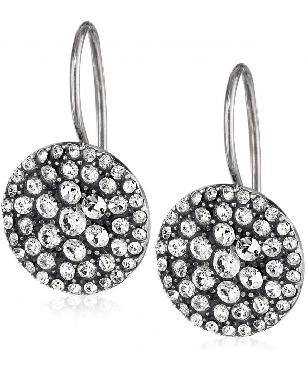 Fossil Womens Vintage Glitz Earrings - Silver - CI11986MIXV