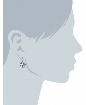 Fossil JF00134040 Glitz Disk Earrings