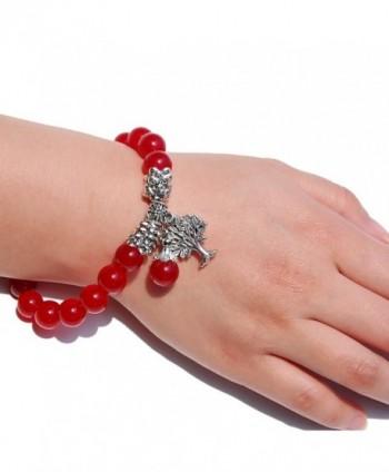 Three Keys Jewelry Birthstone Bracelet in Women's Charms & Charm Bracelets