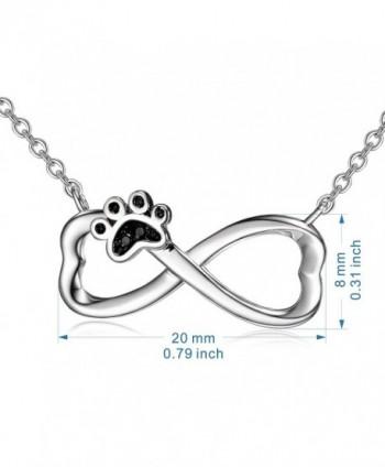 Infinity Necklace Pendant Sterling Jewelry in Women's Pendants