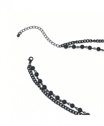 Lux Accessories Classic Pendant Necklace in Women's Chain Necklaces