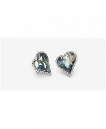 Neoglory Platinum Swarovski Elements Earrings in Women's Clip-Ons Earrings
