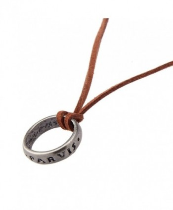 Vintage Uncharted Engraved Necklace nl005624