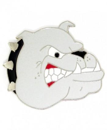 PinMart's Bulldogs School Mascot Sports Enamel Lapel Pin - C211MYI4PIB