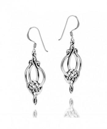 Gorgeous Celtic Filigree Sterling Earrings