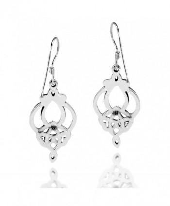 Gorgeous Celtic Filigree Sterling Earrings in Women's Drop & Dangle Earrings