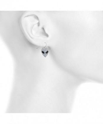 Lux Accessories Glitter dangle earrings