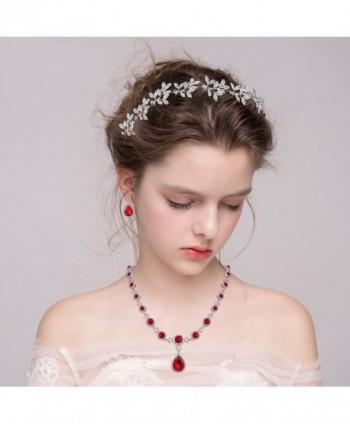 BriLove Infinity Y Necklace Silver Tone Birthstone