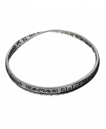 Silver tone Bracelet Included Jewelry Nexus in Women's Bangle Bracelets