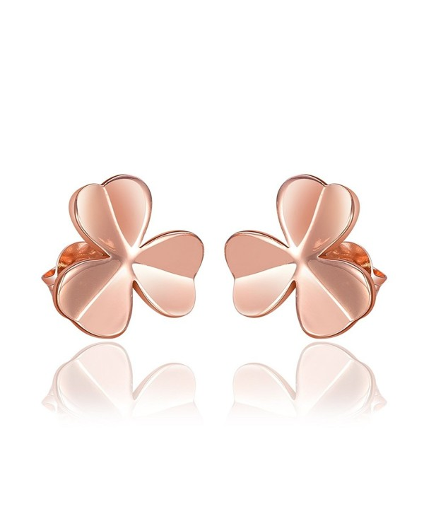 YEAHJOY Bling Jewelry Women's Darling Daisy Flower Stud Earrings with Shiny CZ - CG17YLY7MHA