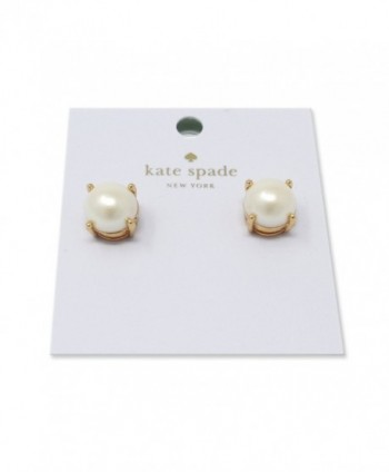 Kate Spade New York Stud Earrings - Cream - CC12HPYAHLL