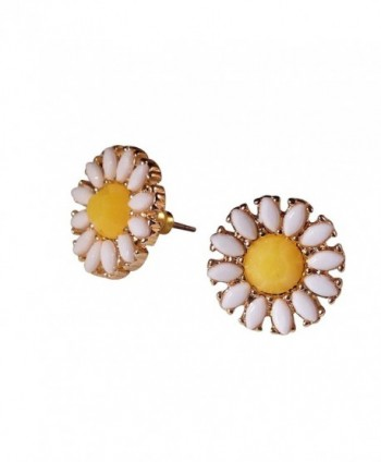 Katara Decor - Daisy Sunflower Earrings Spring Flower Stud Nature - CM12NUC125O