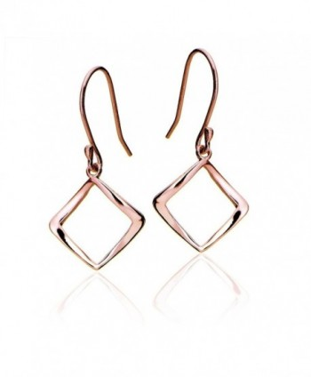 Hoops Loops Sterling Geometric Polished in Women's Drop & Dangle Earrings
