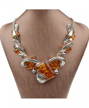Less like Artifical Statement Necklace