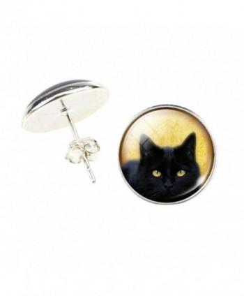 DaisyJewel Halloween Domed Portrait Earrings