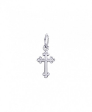 Rembrandt Sterling Silver Cross Charm - C8119EKXNFN