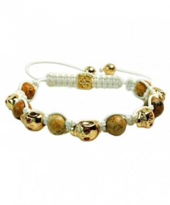 Crystal Beaded Shamballa Bracelet Macrame