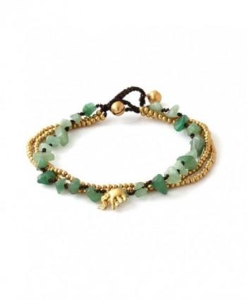 Aventurine 3 strand Beautiful Bracelet JB 0277A - CB125RZ8XBH