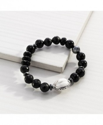 Silpada Blackboard Sterling Stretch Bracelet