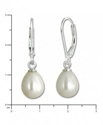 SilberDream Freshwater Cultured Earrings SDO168W in Women's Drop & Dangle Earrings