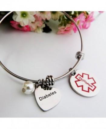 ALoveSoul Medical Alert Bracelet Expandable
