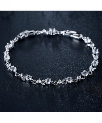 Tennis Bracelet Women Engagement Bridesmaids in Women's Tennis Bracelets