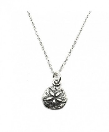 Sterling Silver Nautical Pendant Charm Necklace - C617YS8IQ2R