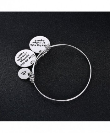 Miles Friends Charms Bangle Bracelets