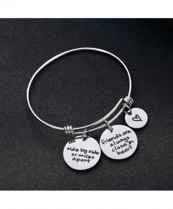 Miles Friends Charms Bangle Bracelets in Women's Bangle Bracelets