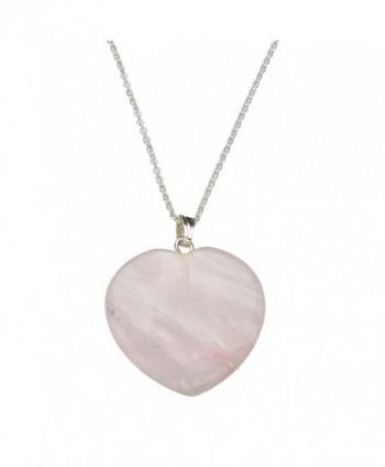Quartz Pendant Sterling Silver Necklace