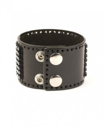 81stgeneration Genuine Leather Adjustable Bracelet