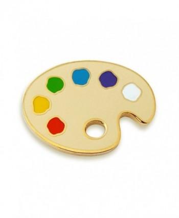 Pinsanity Painter's Palette Enamel Lapel Pin - CA186WL6858