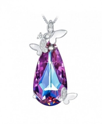 TOJEAN Butterfly Necklace Swarovski Birthday - CE180DHC8CW