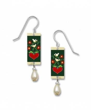 Lemon Tree Lightweight Lovebird Dangle Earrings 4006 - C212MPVN1YZ