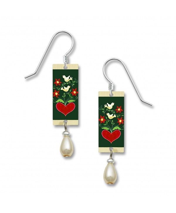 Lemon Tree Lightweight Lovebird Dangle Earrings 4006 - C212MPVN1YZ