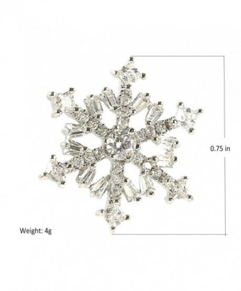 Snowflake 925 Silver Stud Earrings