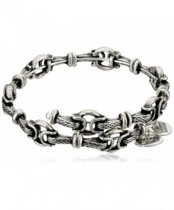 Alex and Ani Honor Rafaelian Wrap Bracelet - Rafaelian Silver - C612IBTEZ8V