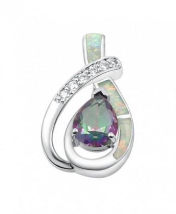 Sinlifu Teardrop Pendants Necklace Jewelry