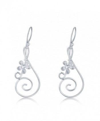 MBLife Sterling Silver Musical Earrings