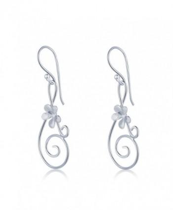 MBLife Sterling Silver Musical Earrings in Women's Drop & Dangle Earrings