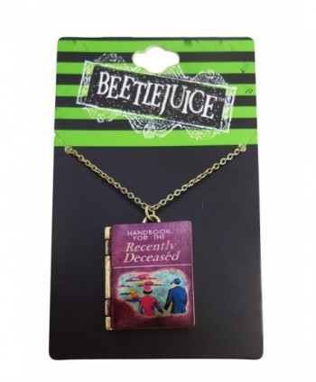 Beetlejuice Handbook for the Recently Deceased Necklace - CA126XZERAP