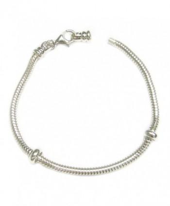 Sterling Caprice Bracelet Stoppers European