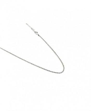 Sterling Silver Diamond Italian Necklace