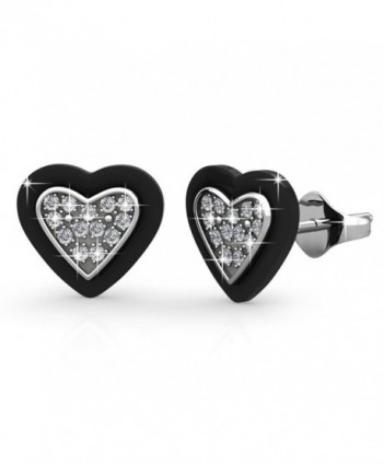 FAPPAC Earrings Enriched Swarovski Crystals in Women's Stud Earrings
