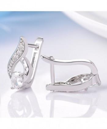 GULICX Vintage Pierced Earrings Jewellery in Women's Hoop Earrings