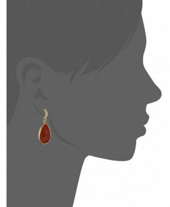 1928 Jewelry Domenica Gold Tone Persimmon
