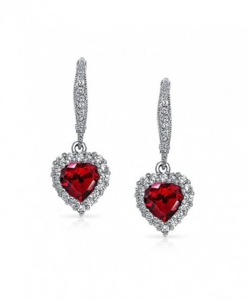Bling Jewelry Simulated Leverback Earrings