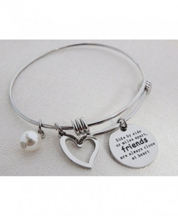 ALoveSoul Best Friends Bracelet Friendship in Women's Bangle Bracelets