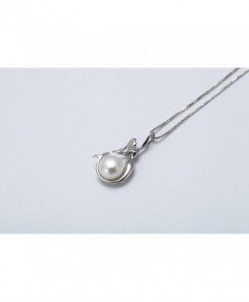 WRISTCHIE Sterling Freshwater Cultured Necklace in Women's Pendants