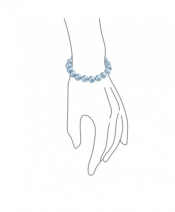 Bling Jewelry Simulated Stretch Bracelet
